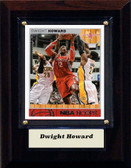 "NBA 4""x6"" Dwight Howard Houston Rockets Player Plaque"