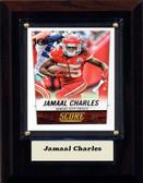 "NFL 4""x6"" Jamaal Charles Kansas City Chiefs Player Plaque"