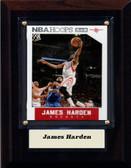 "NBA 4""x6"" James Harden Houston Rockets Player Plaque"