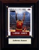 "NBA 4""x6"" Lebron James Cleveland Cavaliers Player Plaque"