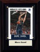 """NBA 4""""x6"""" Marc Gasol Memphis Grizzles Player Plaque"""