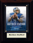 "NFL 4""x6"" Matthew Stafford Detroit Lions Player Plaque"
