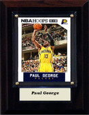 """NBA 4""""x6"""" Paul George Indiana Pacers Player Plaque"""