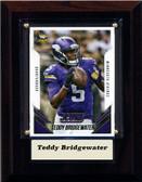 "NFL 4""x6"" Teddy Bridgewater Minnesota Vikings Player Plaque"