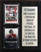 8x10 Payton Manning Denver Broncos Career Stat Plaque