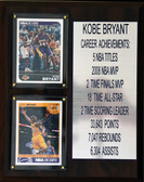 8 X 10 Kobe Bryant Career Stat Plaque