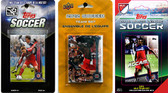 MLS Chicago Fire 3 Different Licensed Trading Card Team Sets