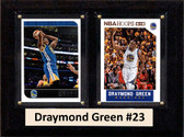 "NBA 6""X8"" Draymond Green Golden State Warriors Two Card Plaque"