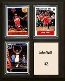 "NBA 8""x10"" John Wall Washington Wizards Three Card Plaque"