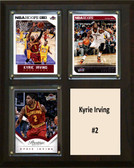 """NBA 8""""x10"""" Kyrie Irving Cleveland Cavaliers Three Card Plaque"""