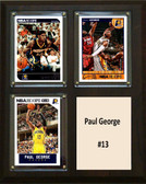 """NBA 8""""x10"""" Paul George Indiana Pacers Three Card Plaque"""
