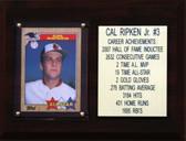 "MLB 6""X8"" Cal Ripken Jr. Baltimore Orioles Player Stat Plaque"