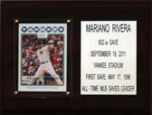 "MLB 6""X8"" Mariano Rivera New York Yankees Career Stat Plaque"