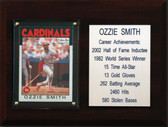 "MLB 6""X8"" Ozzie Smith St. Louis Cardinals Career Stat Plaque"