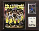 "NBA 12""x15"" Cleveland Cavaliers 2015-2016 NBA Champions Plaque"