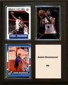 "NBA 8""x10"" Andre Drummond Detriot Pistons Three Card Plaque"