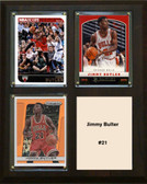 "NBA 8""x10"" Jimmy Bulter Chicago Bulls Three Card Plaque"