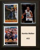 "NBA 8""x10"" Kemba Walker Charlotte Hornets Three Card Plaque"