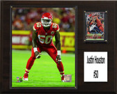 "NFL 12""x15"" Justin Houston Kansas City Chiefs Player Plaque"