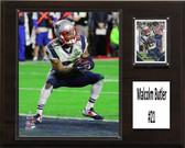 "NFL 12""x15"" Malcolm Bulter New England Patriots Player Plaque"