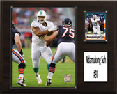 """NFL 12""""x15"""" Ndamukong Suh Miami Dolphins Player Plaque"""