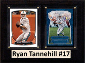 """NFL 6""""X8"""" Ryan Tannehill Miami Dolphins Two Card Plaque"""