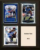 "NFL 8""x10"" Golden Tate Detroit Lions Three Card Plaque"