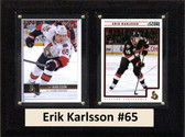 "NHL 6""X8"" Erik Karlsson Owatto Senators Two Card Plaque"