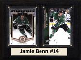 "NHL 6""X8"" Jamie Benn Dallas Stars Two Card Plaque"