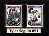 """NHL 6""""X8"""" Tyler Seguin Dallas Stars Two Card Plaque"""