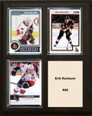 "NHL 8""x10"" Erik Karlsson Owatto Senators Three Card Plaque"