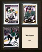 "NHL 8""x10"" Tyler Seguin Dallas Stars Three Card Plaque"