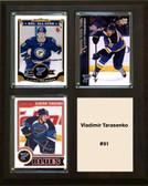 "NHL 8""x10"" Vladimir Tarasenko St.Louis Blues Three Card Plaque"