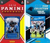 NFL Carolina Panthers Licensed 2016 Panini and Donruss Team Set