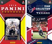 NFL Houston Texans Licensed 2016 Panini and Donruss Team Set