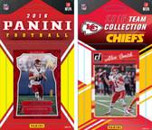 NFL Kansas City Chiefs Licensed 2016 Panini and Donruss Team Set
