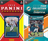 NFL Miami Dolphins Licensed 2016 Panini and Donruss Team Set