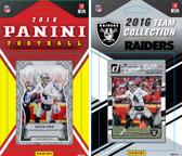 NFL Oakland Raiders Licensed 2016 Panini and Donruss Team Set
