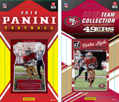 NFL San Francisco 49ers Licensed 2016 Panini and Donruss Team Set