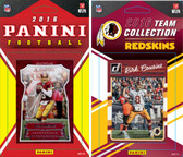 NFL Washington Redskins Licensed 2016 Panini and Donruss Team Set