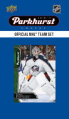NHL Columbus Blue Jackets 2016 Parkhurst Team Set