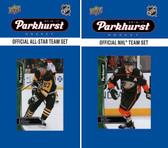 NHL Anaheim Ducks 2016 Parkhurst Team Set and All-Star Set