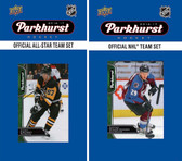 NHL Colorado Avalanche 2016 Parkhurst Team Set and All-Star Set
