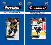 NHL Dallas Stars 2016 Parkhurst Team Set and All-Star Set