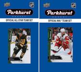 NHL Detroit Red Wings 2016 Parkhurst Team Set and All-Star Set