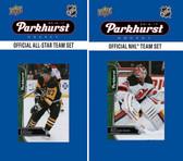 NHL New Jersey Devils 2016 Parkhurst Team Set and All-Star Set