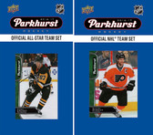 NHL Philadelphia Flyers 2016 Parkhurst Team Set and All-Star Set