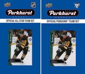 NHL Pittsburgh Penguins 2016 Parkhurst Team Set and All-Star Set