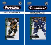 NHL Tampa Bay Lightning 2016 Parkhurst Team Set and All-Star Set
