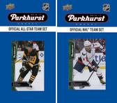 NHL Washington Capitals 2016 Parkhurst Team Set and All-Star Set